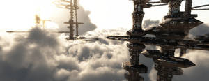 Cloud Shadow City by GraphixRob