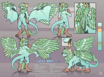 Custom Reference - Lucas Mint by ArtByZephra