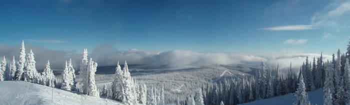 Sun Peaks Panorama by AlphaAlec