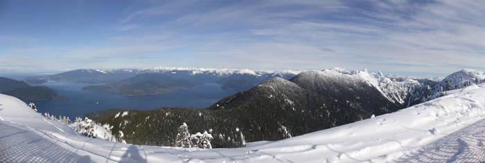 Cypress Ski Resort Panorama by AlphaAlec