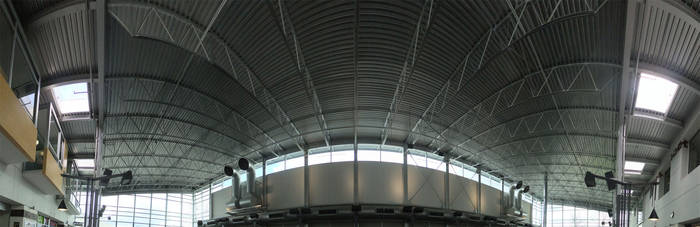 BCIT Great Hall Panorama by AlphaAlec