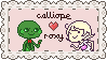 Red Callieroxy Stamp by 1nklash