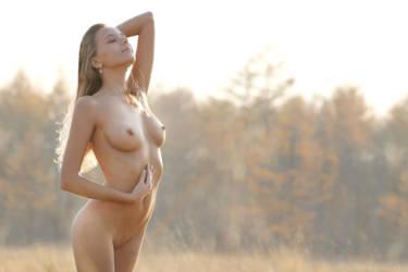 Autumn Goddess by blooddee