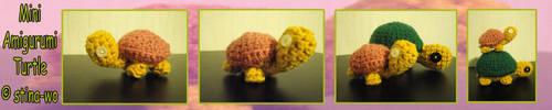 Mini Toytle .:Amigurumi:. by stina-marie