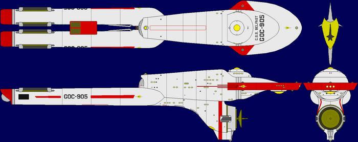 GSS Belfast GOC-905 by SciFiRocker
