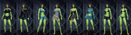 Elinas Outfit by SciFiRocker