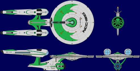 ISS Hydra NCC-1810 by SciFiRocker