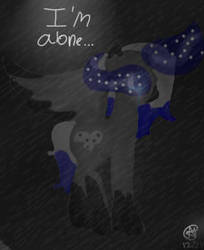 I'm alone (Redraw) by Aliderp123