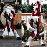 Lycanroc Cosplay by koisnake
