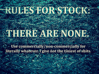 RULES FOR STOCK by Niedec-STOCK