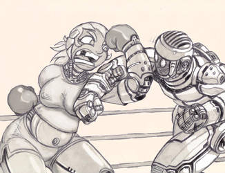 Roxanne vs Atom by LiquidMark