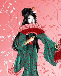 Geisha by SassyLilPanda
