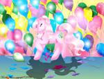 Pinkie Pie's Balloons by SassyLilPanda