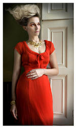 the red dress by LoGill
