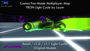 TRON 2.0 Killer App Mod Original LightCyclist by redrain85