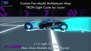 TRON 2.0 Killer App Mod Anon LightCyclist by redrain85
