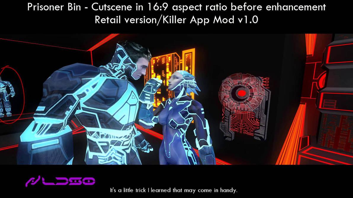 Prisoner Bin - Cutscene before 16:9 enhancement by redrain85
