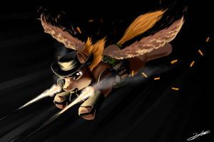 Calamity - Angel Of Death by GasMaskFox
