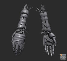 JunkBot Hands by PLyczkowski