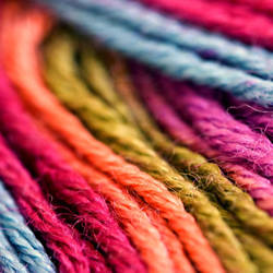 rainbow wool by nandiamond