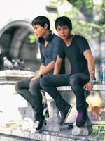 Skaters by SpyroRue