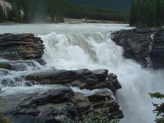 Waterfall by nightshadestock