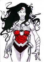 .:Machine.Head.Girl x Wonder Woman v0001:. by teflonmonkey