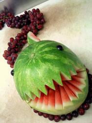 Watermelon Chomp Chomp Return by DoctorTonyStarkWho