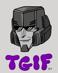 TGIF Megatron by Kittylover9399