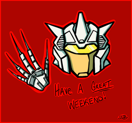 Chromedome Have a Great Weekend by Kittylover9399