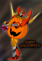 Happy Halloween Rodimus Prime by Kittylover9399