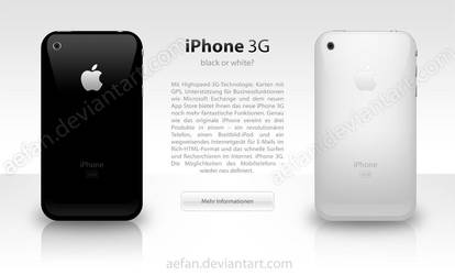 iPhone 3G Ad - Part 2 by Aefan