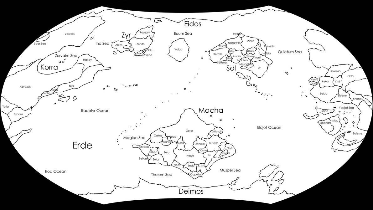 Journey - World Map by Ethaeriel
