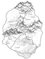 Journey - Map of Volga by Ethaeriel