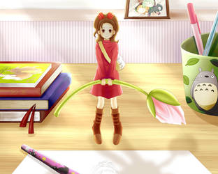 The Borrower Arrietty by oi-m