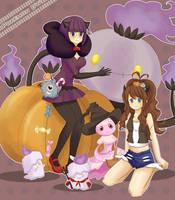 Shikimi and Touko by oi-m