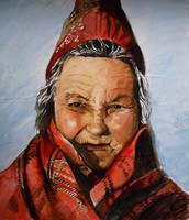 Sami Woman by hel999