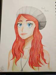 Art commission (Kaili Burns) by SonicShadowWolf