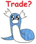Pokemon Rainbow Trade: Dratini (Pending) by Greenpolarbear47