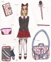MyM: Cassie's Back to School Outfit by Greenpolarbear47