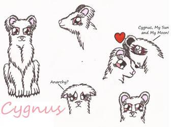 Character Sketch: Cygnus by Greenpolarbear47