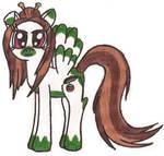 MLP: Evergreen (redesigned) by Greenpolarbear47