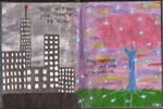 Art Journal: Entry #20 - Logic vs Imagination by Greenpolarbear47