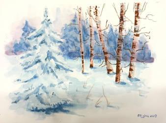 Winter 1 by Eligius-san