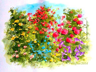 Flowers 1 by Eligius-san