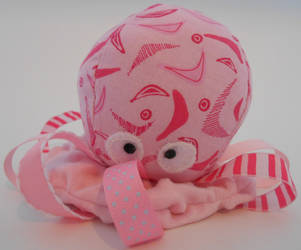 Baby Octopus Toy by SlightlyWinged