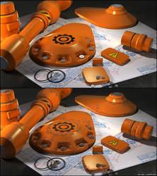 Orange Rust by cain3D