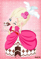 Commission: Marie Antoinette by mashi