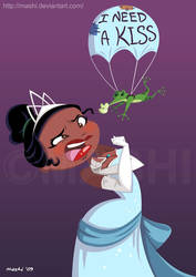 The Princess and the Frog by mashi