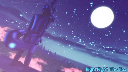 Blue Night by NightNightTheFox